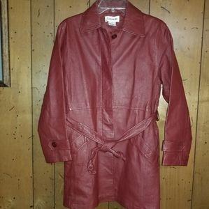 Bagatelle Soft Leather Lined Jacket Size 6